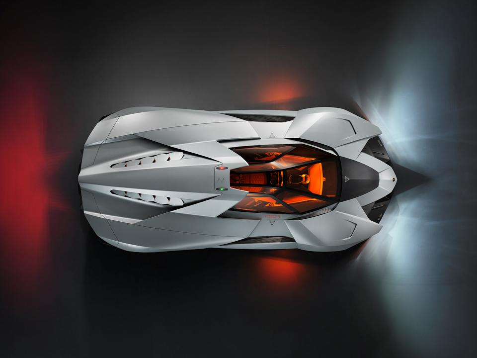 The Lamborghini Egoista Looks Like It Should Be Aboard The USS  Enterpriseu2026.the Only Command Missing Is U201cbeam Me Up Scotty.u201d The Red And  Green Lights On The ...