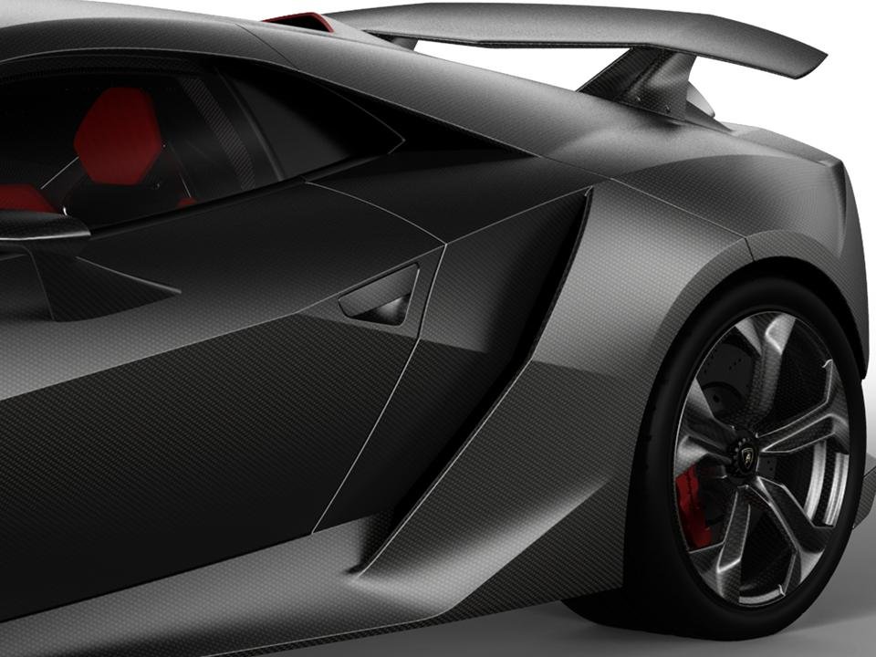 The Name Of This Technology Demonstrator Is Derived From The Periodic Table  Where Carbon Is Classified As The Sixth Element. Automobili Lamborghini Is  The ...
