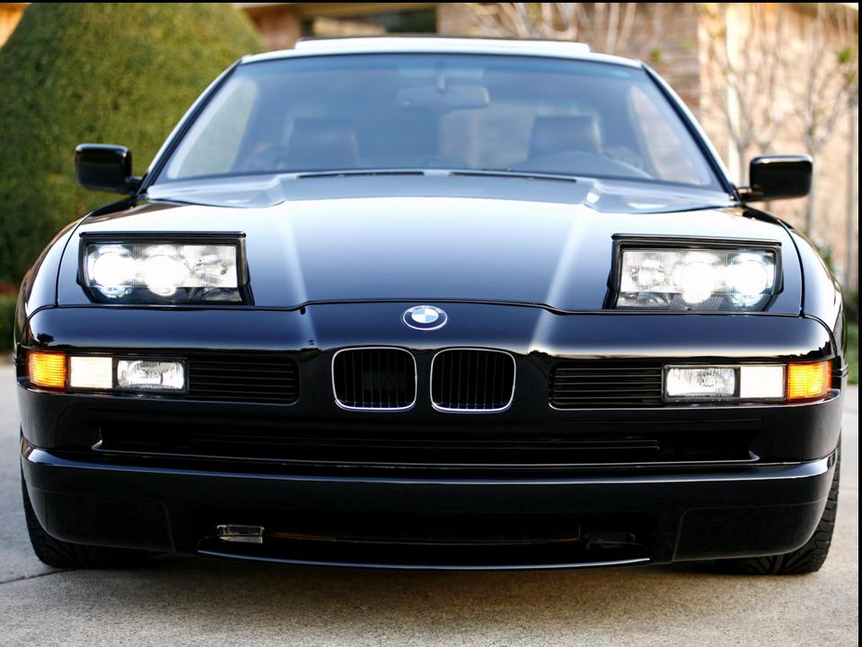 The Iconic BMW 850i Series With V12 Power