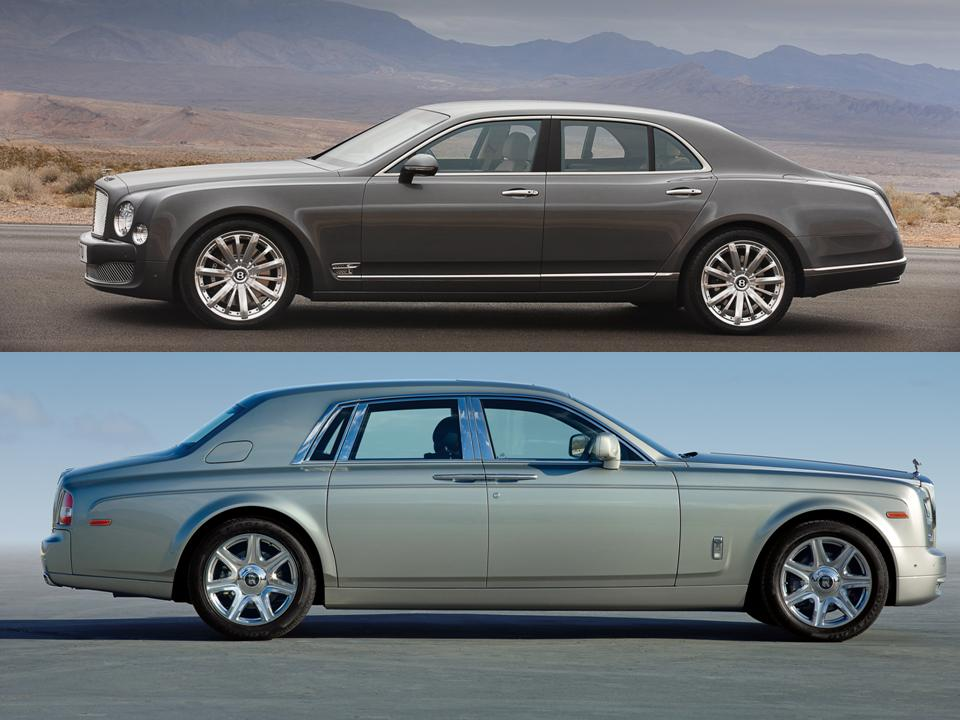 Bentley Flying Spur vs Rolls Royce Ghost - NotoriousLuxury