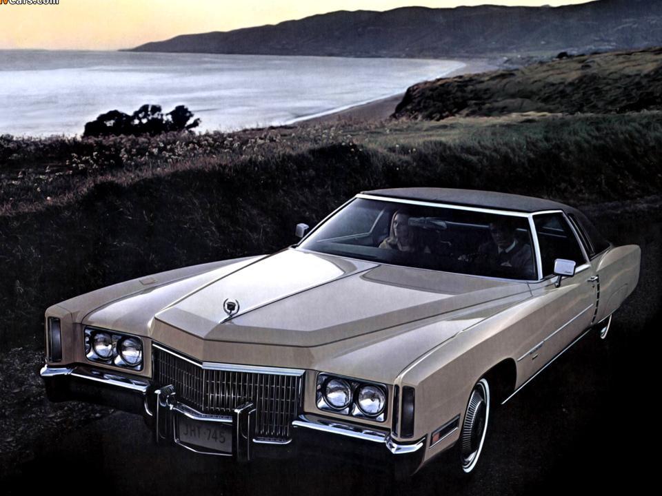 1971 1972 Cadillac Fleetwood Eldorado Notoriousluxury