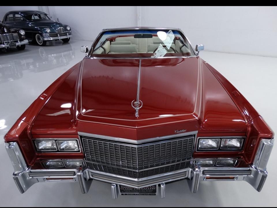 1976 Cadillac Eldorado Convertible Notoriousluxury