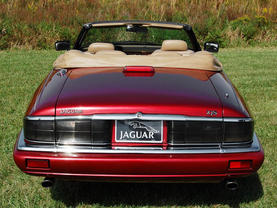 The 1995 Jaguar XJS Cabrio Isnu0027t It Purrrrrfect?