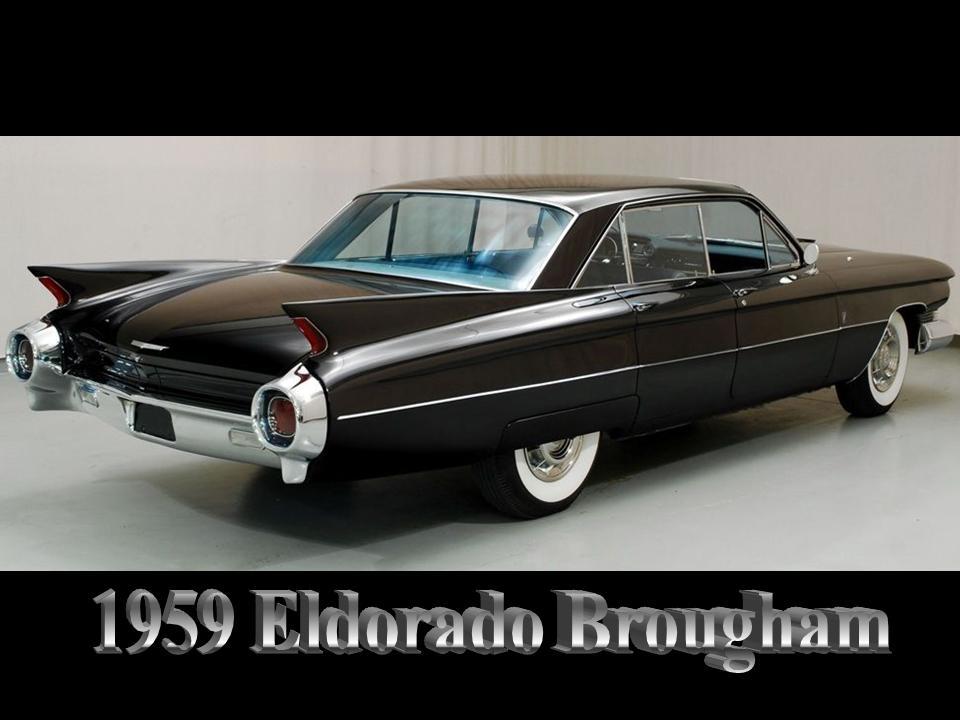 2018 Cadillac Eldorado >> 1959 and 1960 Cadillac Eldorado Brougham – NotoriousLuxury