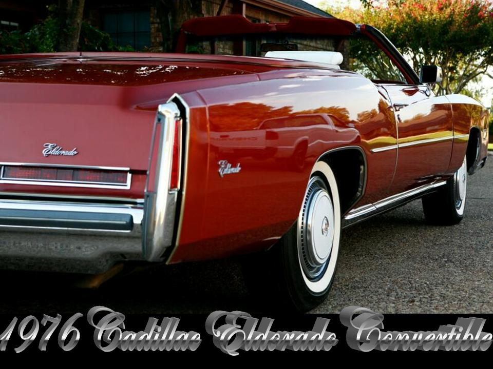 1976 Cadillac Eldorado Convertible | NotoriousLuxury
