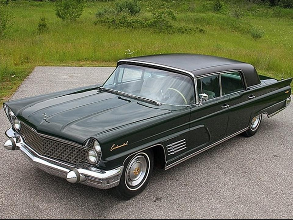1960 Lincoln Limousine Notoriousluxury