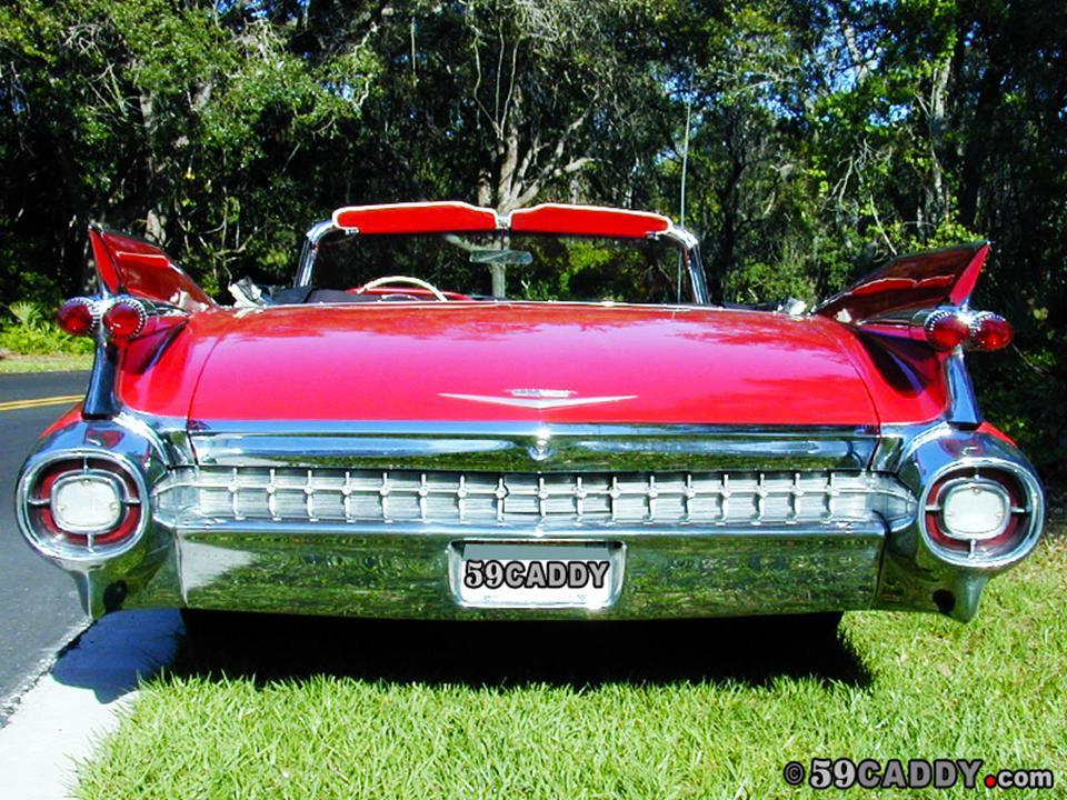 Old Classic Cadillac Car