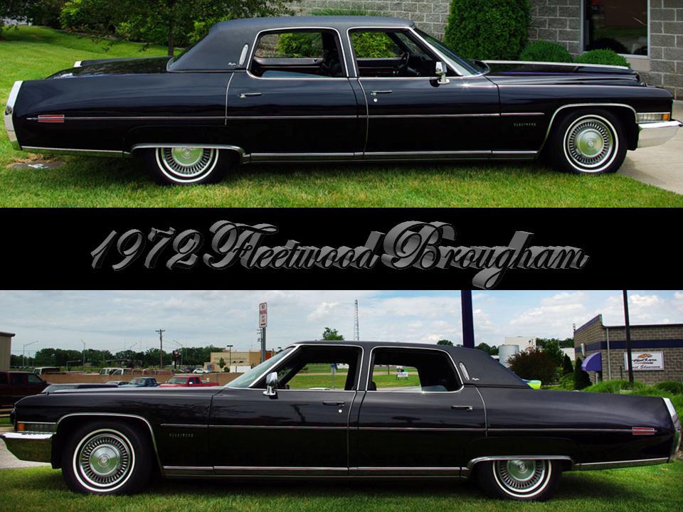 1972 Cadillac Fleetwood Series   NotoriousLuxury