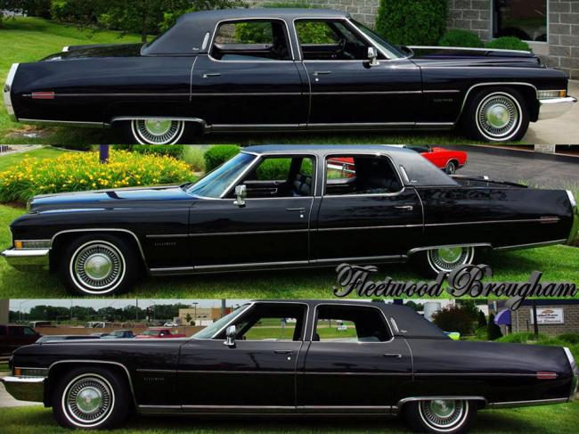 1972 Cadillac Fleetwood Series – NotoriousLuxury