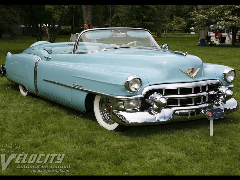 1953 cadillac eldorado notoriousluxury for 1953 cadillac 4 door