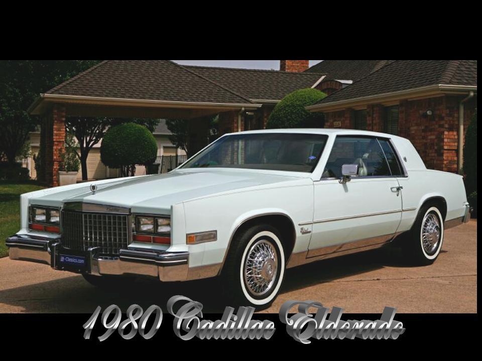 1980 Cadillac Eldorado Notoriousluxury