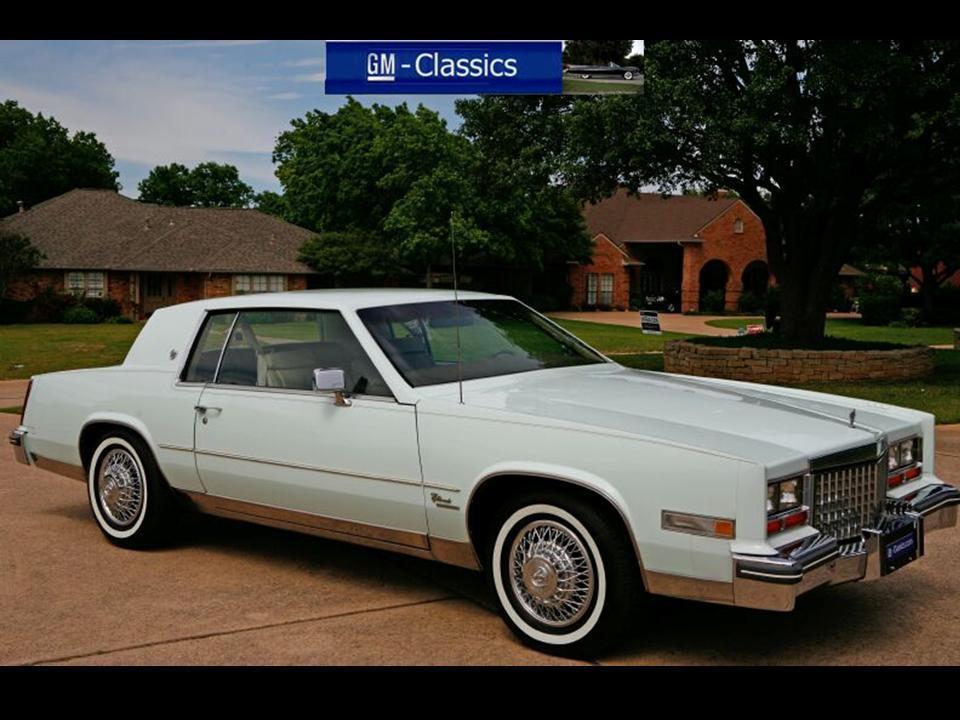 1980 cadillac eldorado notoriousluxury 2003 Cadillac Eldorado the cadillac 6 litre 368 cid engine produced 145 hp 3 600 rpm with 366 nm of peak torque 2 000 rpm the engine was mated to gm s turbo hydramatic