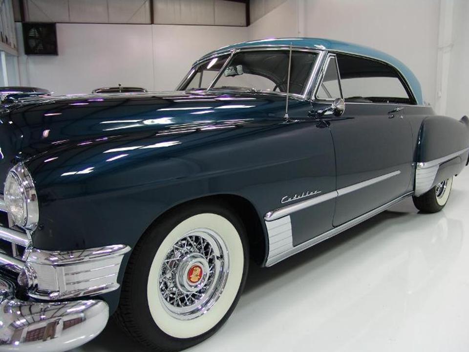 1949 cadillac series 62 coupe deville notoriousluxury for 1949 cadillac 4 door sedan