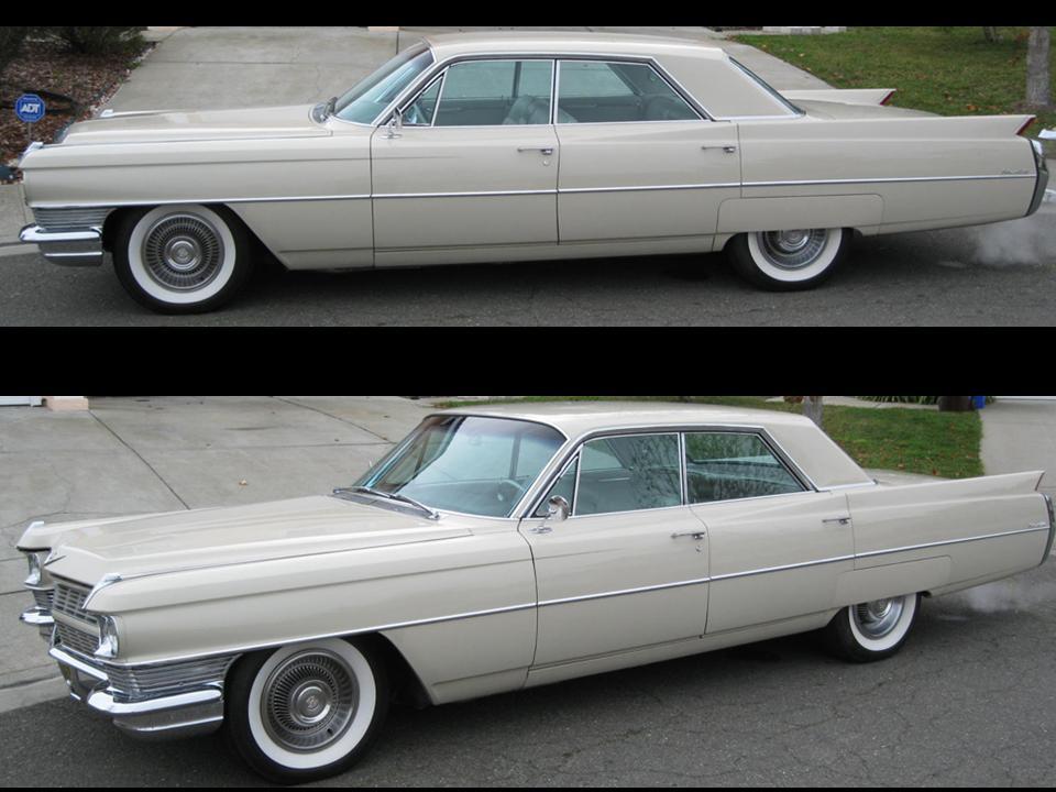 1964 cadillac series 6300 sedan deville notoriousluxury. Black Bedroom Furniture Sets. Home Design Ideas