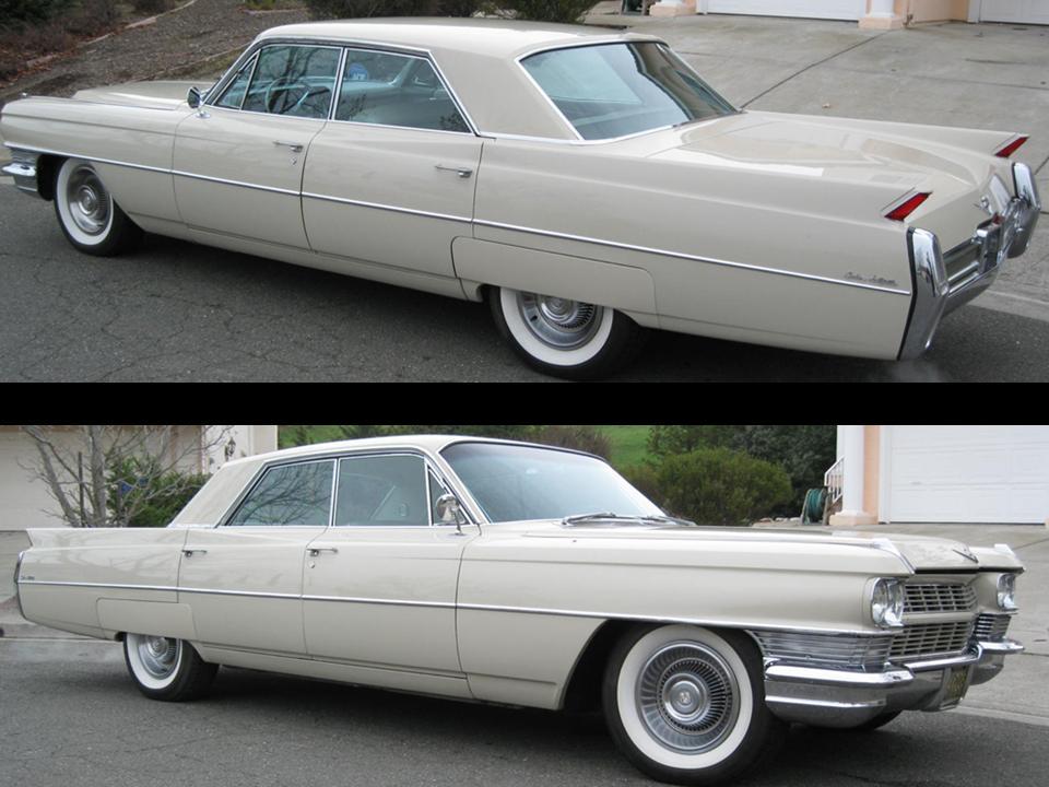1964 Cadillac Hardtop Sedan deVille | NotoriousLuxury
