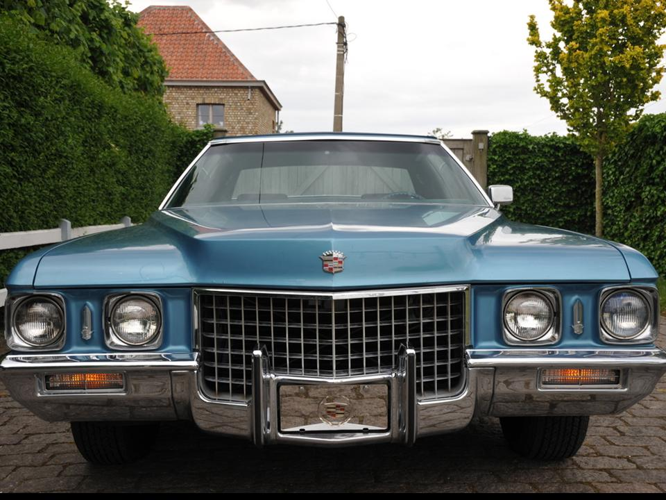 1971 Cadillac Coupe deVille   NotoriousLuxury