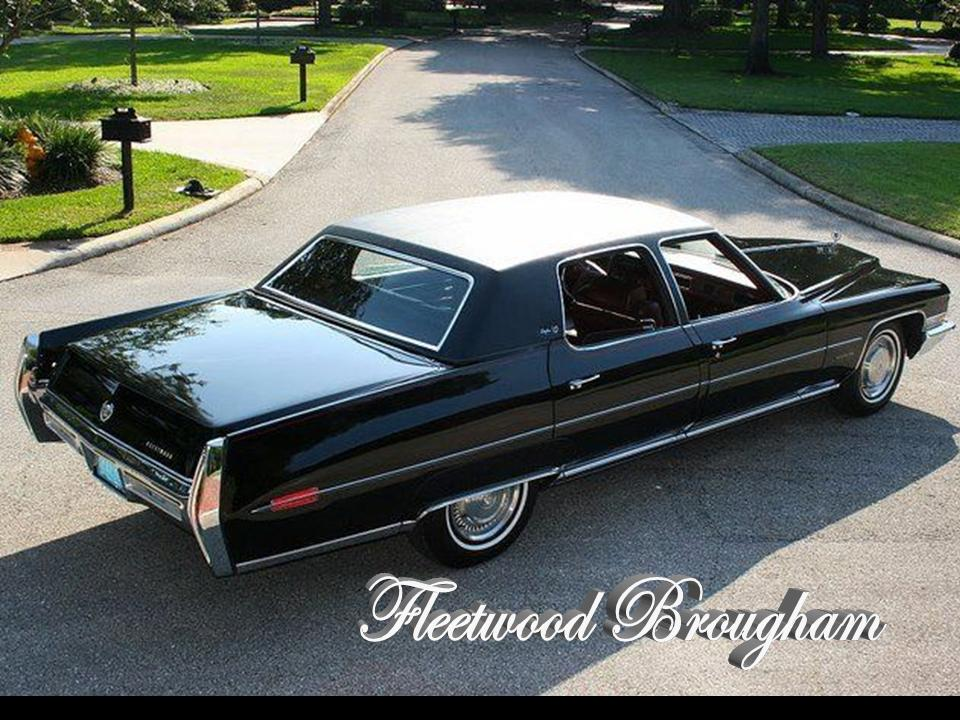 1972 Cadillac Fleetwood Series NotoriousLuxury