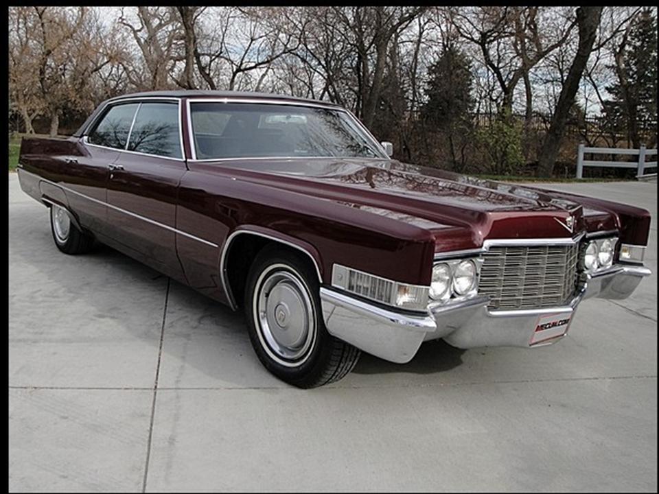 1969 Cadillac Hardtop Sedan deVille | NotoriousLuxury