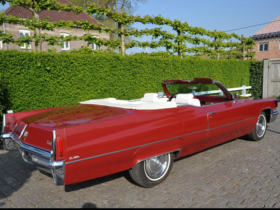 1970 Cadillac Deville Convertible Notoriousluxury