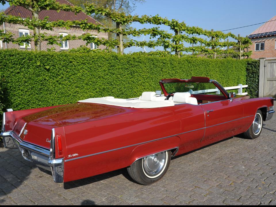 1970 Cadillac DeVille Convertible NotoriousLuxury