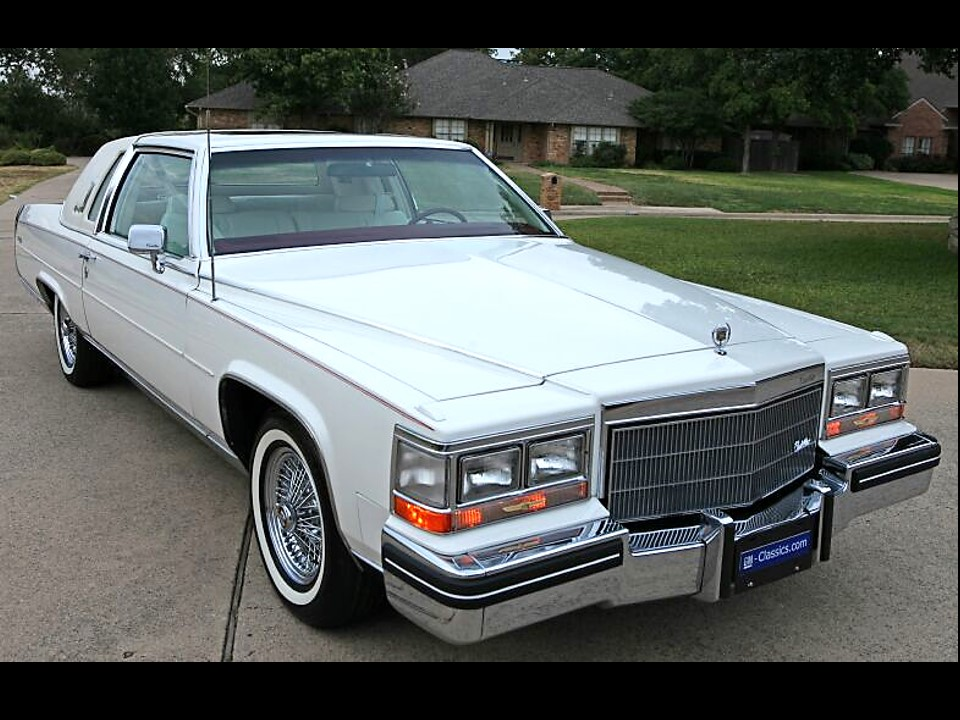 Image result for 1985 cadillac fleetwood brougham