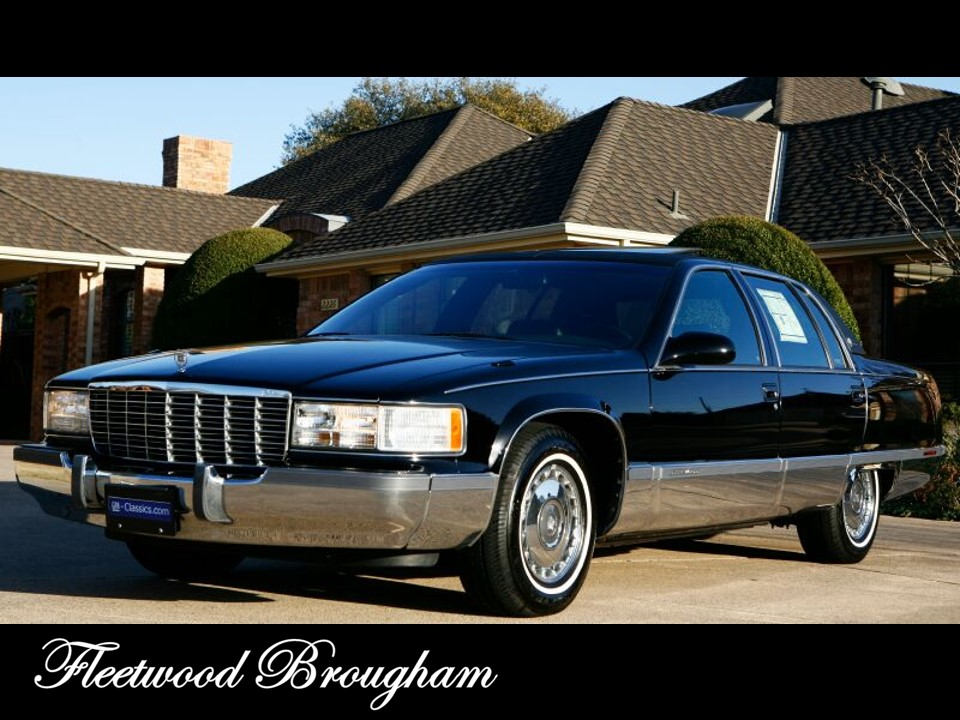 1993 1996 cadillac fleetwood brougham. Cars Review. Best American Auto & Cars Review