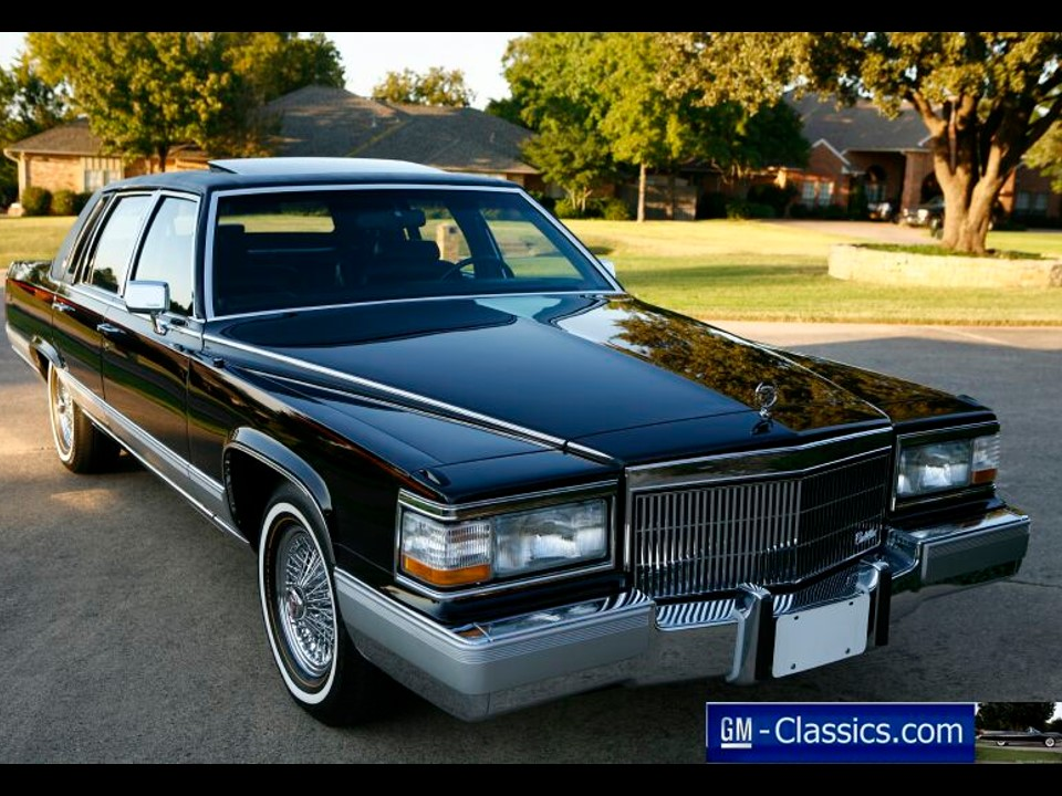1990 Cadillac Brougham D Elegance Images Frompo