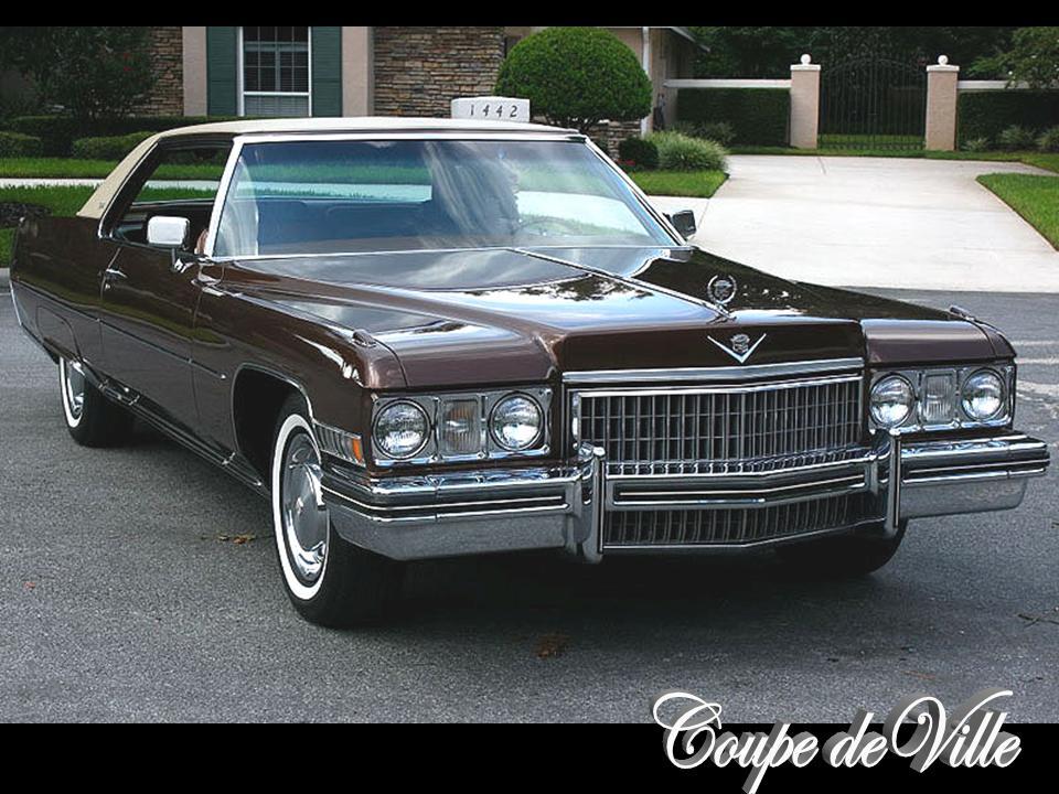 1973 Cadillac Coupe Deville Notoriousluxury