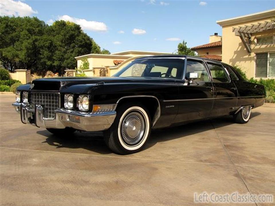 1971 Cadillac Fleetwood Series Seventy-Five | NotoriousLuxury