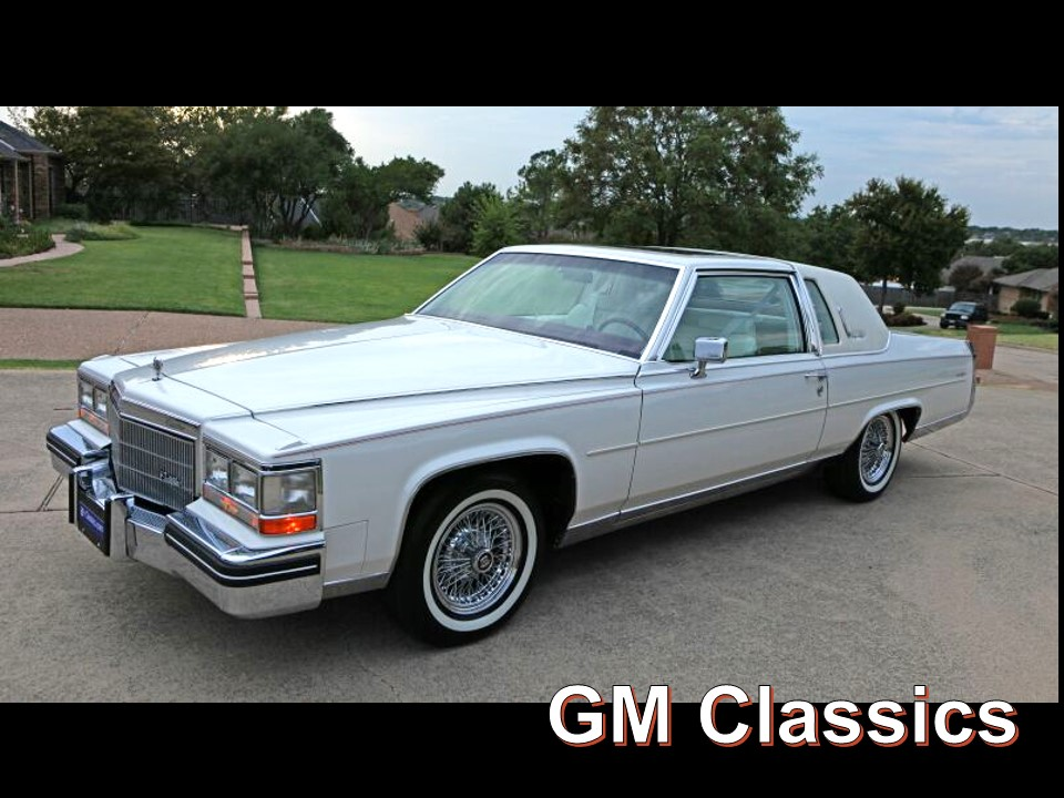 1985 Cadillac Fleetwood Brougham Coupe DElegance