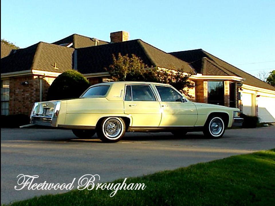 1978 Cadillac Fleetwood Brougham   NotoriousLuxury