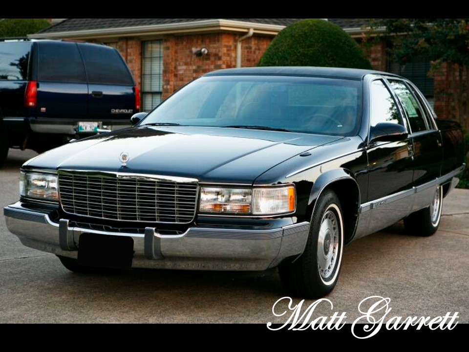 1993-1996 Cadillac Fleetwood Brougham | NotoriousLuxury