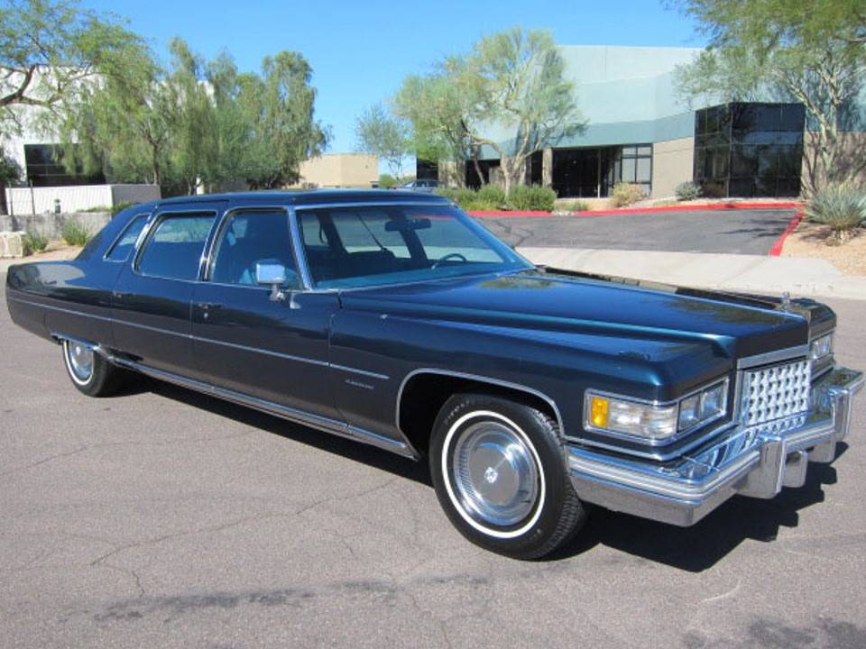 1976 Cadillac Fleetwood Series Seventy-Five | NotoriousLuxury