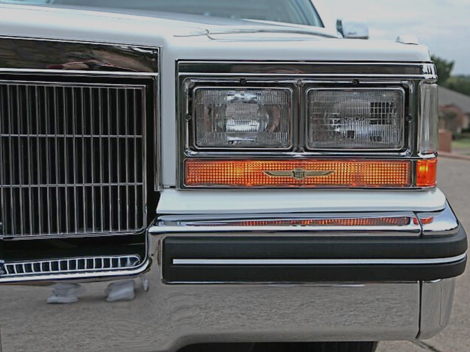 1985 Cadillac Fleetwood Brougham Coupe dElegance  NotoriousLuxury