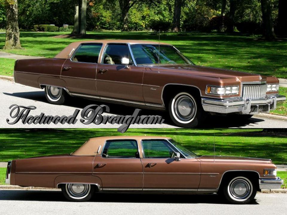 1975 Cadillac Fleetwood Brougham Notoriousluxury