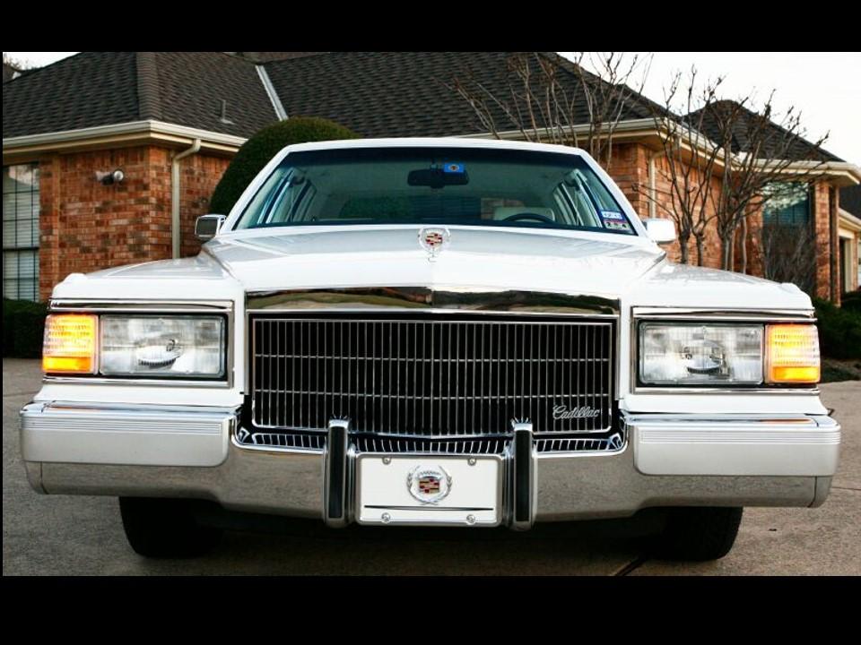 1990-1992 Cadillac Brougham & Brougham d'Elegance