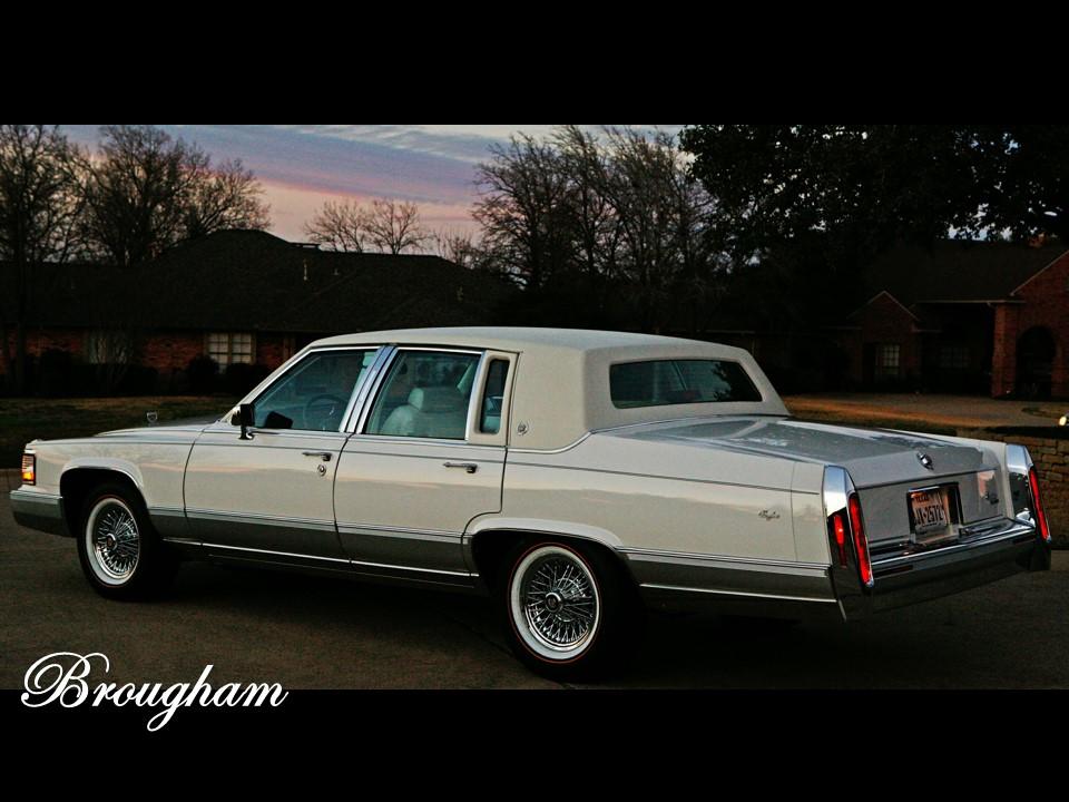 1990-1992 Cadillac Brougham   NotoriousLuxury