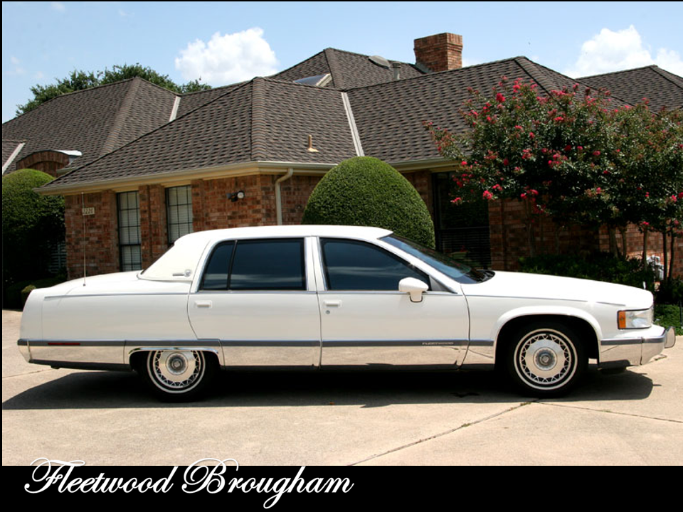 1994 Cadillac Fleetwood Brougham Highsecurity Sedan Notoriousluxury