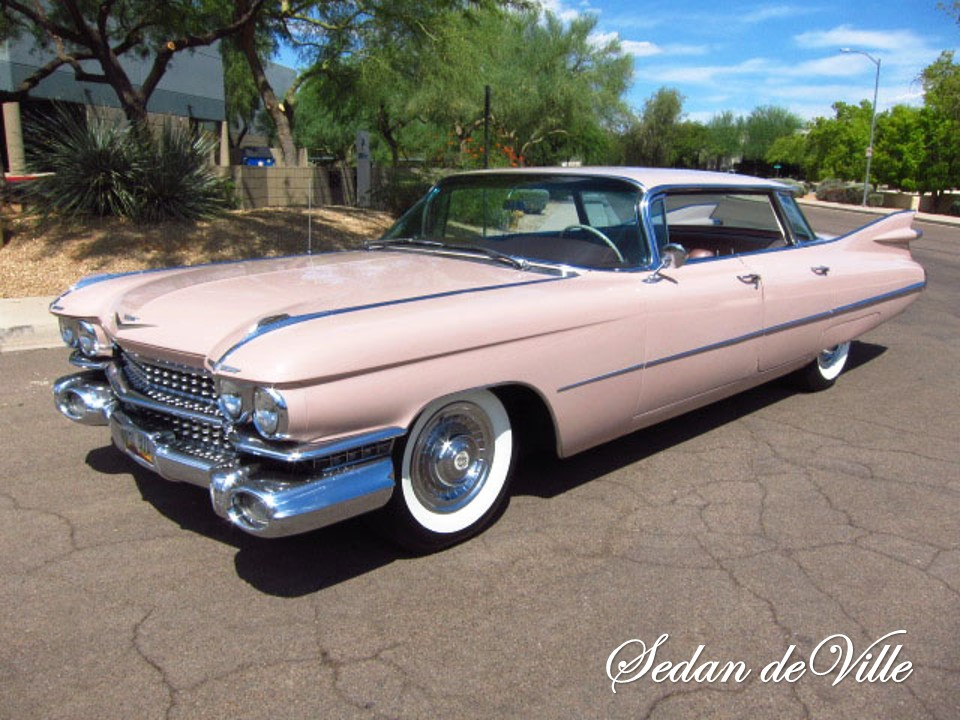 1959 Cadillac Flat Top Sedan deVille | NotoriousLuxury