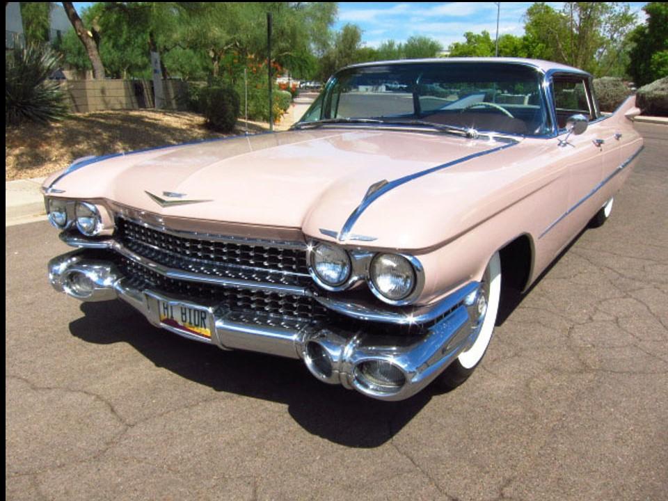 1959 Cadillac Flat Top Sedan deVille | NotoriousLuxury