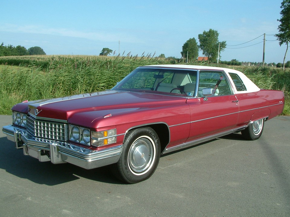 1974 Cadillac Coupe deVille | NotoriousLuxury