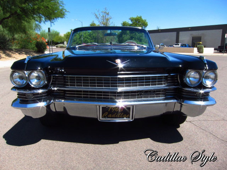 1963 Cadillac Series Sixty-Two Convertible   NotoriousLuxury