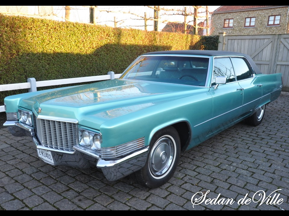 1970 Cadillac Sedan deVille | NotoriousLuxury