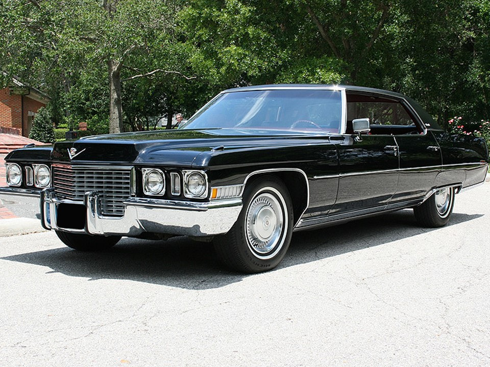 1972 Cadillac Sedan deVille | NotoriousLuxury