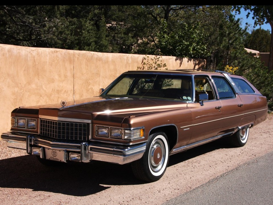 1976 Cadillac Fleetwood 60 Castilian Estate Notoriousluxury