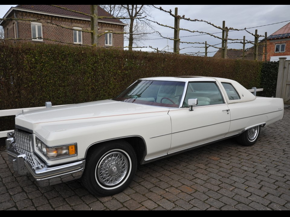 the 1976 cadillac coupe deville. Cars Review. Best American Auto & Cars Review