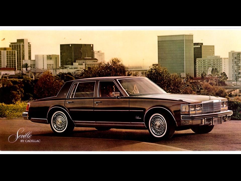 Fresh Metal 1980 Cadillac Seville Notoriousluxury