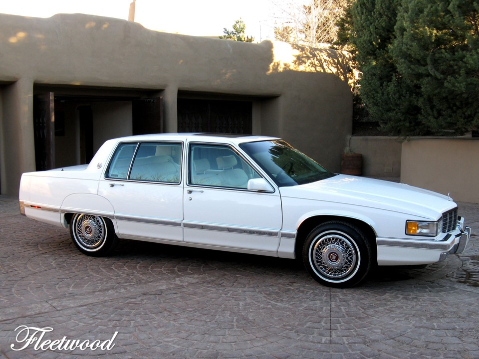Fresh Metal: 1991 Cadillac Fleetwood FWD | NotoriousLuxury
