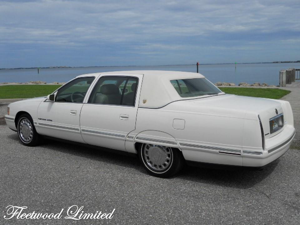 Coachbuilt 1999 Cadillac Fleetwood Limited Notoriousluxury
