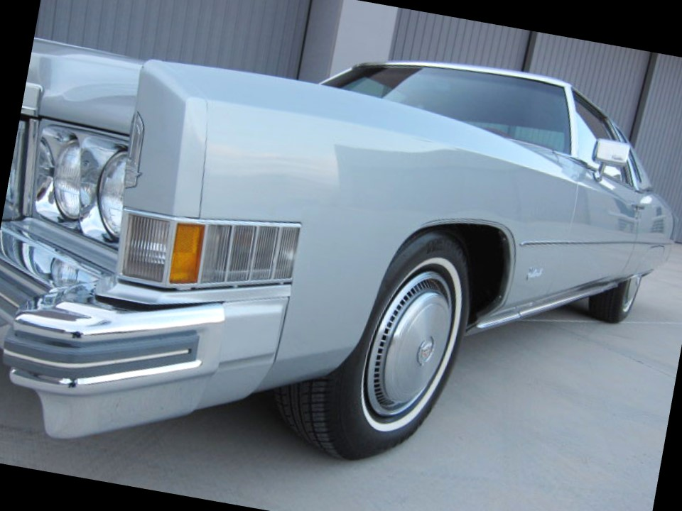 Fresh Metal: 1974 Eldorado Custom Cabriolet – NotoriousLuxury
